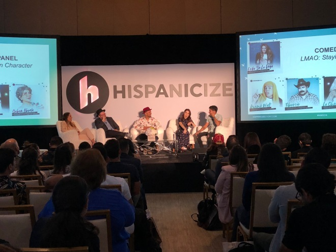 Panel de influencers Hispanicize